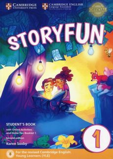 Storyfun for Starters 1 Student's Book with Online Activities and Home Fun Booklet 1 - Karen Saxby