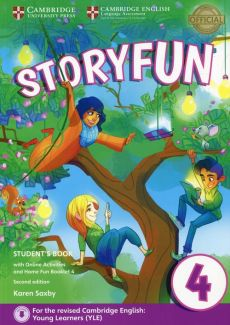 Storyfun for Movers 4 Student's Book with Online Activities and Home Fun Booklet 4 - Karen Saxby