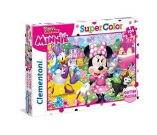 Puzzle brokatowe Minnie Happy Helpers 104