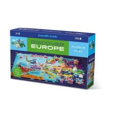 Puzzle odkrywcy Europa 100