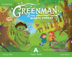 Greenman and the Magic Forest A Pupil's Book with Stickers and Pop-outs - Karen Elliott, Marilyn Miller