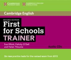 First for Schools Trainer Audio 3 CD - Sue Elliott, Felicity O'Dell, Helen Tiliouine