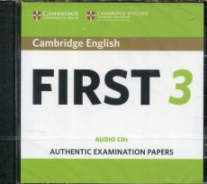 Cambridge English First 3 CD-Audio