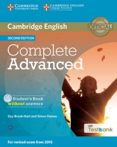 Complete Advanced Student's Book without Answers + Testbank + CD - Guy Brook-Hart, Simon Haines