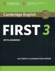 Cambridge English First 3 with answers