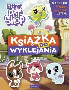 Littlest Pet Shop Książka do wyklejania