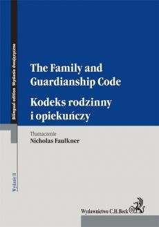 Kodeks rodzinny i opiekuńczy The Family and Guardianship Code - Nicholas Faulkner