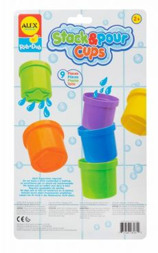 ALEX BATH STACK & COUNT CUPS
