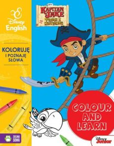 Colour and learn! Jake. Koloruję i poznaję słowa. Disney English
