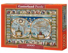 Puzzle Map of the World 2000