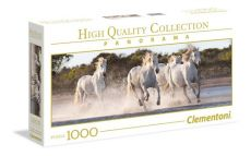 Puzzle 1000 High Quality Collection Panorama Running Horses