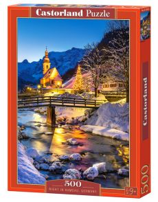 Puzzle Night in Ramsau Germany 500