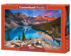 Puzzle Sunrise at Moraine Lake, Canada 500
