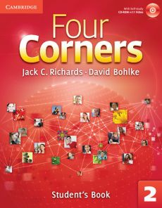 Four Corners 2 Student's Book with Self-study CD-ROM and Online Workbook - David Bohlke, Richards Jack C.