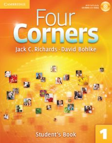 Four Corners 1 Student's Book with Self-study CD-ROM - David Bohlke, Richards Jack C.