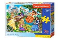 Puzzle Princesses in Garden 70