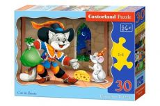 Puzzle Cat in Boots 30