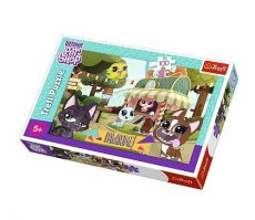 Puzzle Littlest Pet Shop Zabawa w parku 100