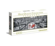 Puzzle Panorama High Quality Collection Amsterdam Bicycle 1000