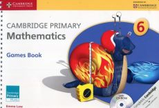 Cambridge Primary Mathematics Games Book with CD - Emma Low