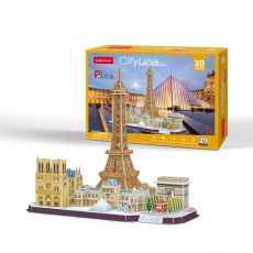 Puzzle 3D City Line Paris 114