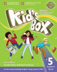 Kid's Box 5 Student's Book American English - Caroline Nixon, Michael Tomlinson