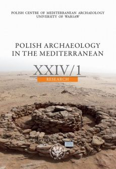 Polish Archaeology in the Mediterranean 24/1 - Praca zbiorowa