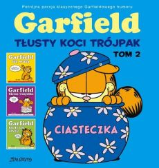 Garfield Tłusty koci trójpak Tom 2 - Jim Davis