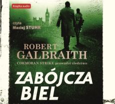 Zabójcza biel (audiobook CD) - Galbraith Robert (pseud. J.K. Rowling)