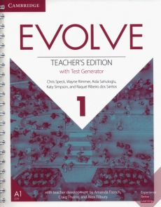 Evolve  1 Teacher's Edition with Test Generator - Wayne Rimmer, Chris Speck, Aida Sahutoglu, Katy Simpson, Santos Raquel Ribeiro