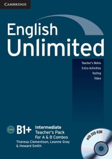 English Unlimited Intermediate Teacher's Pack + DVD - Leanne Gray, Smith Howard, Theresa Clementson