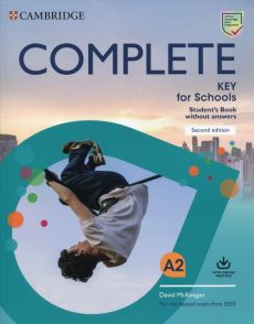 Complete Key for Schools A2 Student's Book without answers