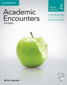 Academic Encounters 4 Student's Book Listen Speaking with DVD - Miriam Espeseth