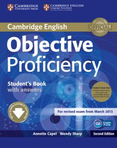 Objective Proficiency Student's Book with answers + 2CD - Annette Capel, Wendy Sharp