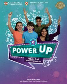 Power Up Level 6 Activity Book with Online Resources and Home Booklet - Caroline Nixon, Michael Tomlinson, Melanie Starren
