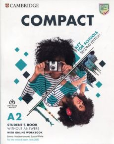 Compact Key for Schools A2 Student's Book with Online Workbook - Emma Heyderman, Susan White