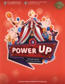 Power Up  3 Activity Book with Online Resources and Home Booklet - Caroline Nixon, Michael Tomlinson