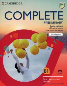 Complete Preliminary Student's Book without Answers with Online Workbook - Emma Heyderman, Peter May