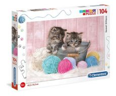 Puzzle Supercolor Sweet Kittens 104