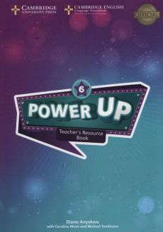 Power Up 6 Teacher's Resource Book with Online Audio - Diana Anyakwo, Caroline Nixon, Michael Tomlinson