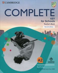 Complete Key for Schools Teacher's Book with Downloadable Class Audio and Teacher's Photocopiable Worksheets - Rod Fricker, David McKeegan
