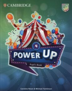 Power Up 4 Pupil's Book - Caroline Nixon, Michael Tomlinson