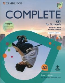 Complete Key for Schools A2 Student's Pack
