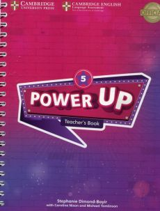 Power Up Level 5 Teacher's Book - Stephanie Dimond-Bayir, Caroline Nixon, Michael Tomlinson