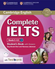 Complete IELTS Bands 5-6.5 Student's Book with Answers with CD-ROM with Testbank - Guy Brook-Hart, Vanessa Jakeman
