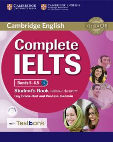 Complete IELTS Bands 5-6.5 Student's Book without Answers with CD-ROM with Testbank - Guy Brook-Hart, Vanessa Jakeman