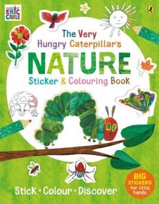The Very Hungry Caterpillar's Nature Sticker and Colouring Book - Eric Carle