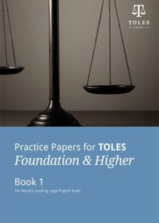 Practice Papers for TOLES Foundation & Higher Book 1