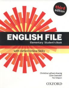 English File 3E Elementary Student's Book +Online Skills - Christina Latham-Koenig, Clive Oxenden