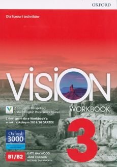Vision 3 Workbook + e-Workbook + Vocabulary Trainer - Michael Duckworth, Kate Haywood, Jane Hudson
